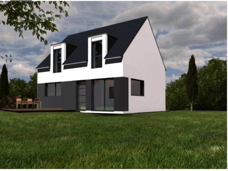 Maison+Terrain de 5 pièces avec 4 chambres à Ploeren 56880 – 283065 € - YM-19-06-11-8
