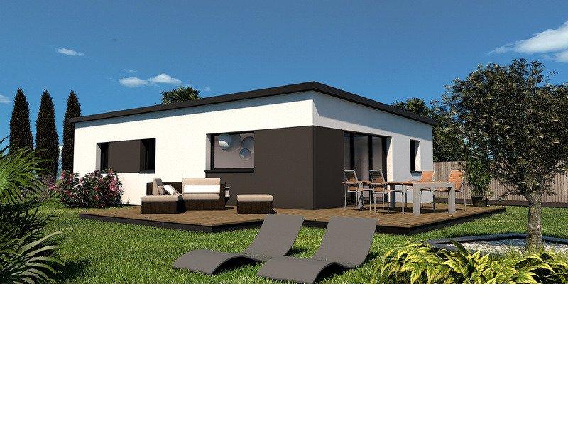 Maison+Terrain de 4 pièces avec 3 chambres à Plozévet 29710 – 179500 € - TBI-18-09-17-42