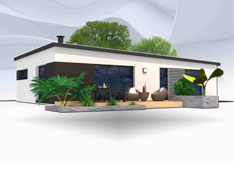 Maison+Terrain de 5 pièces avec 4 chambres à Rosporden 29140 – 184090 € - TBI-19-04-08-111