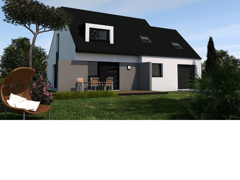 Maison+Terrain de 5 pièces avec 4 chambres à Gouesnach 29950 – 220915 € - TBI-19-07-23-102