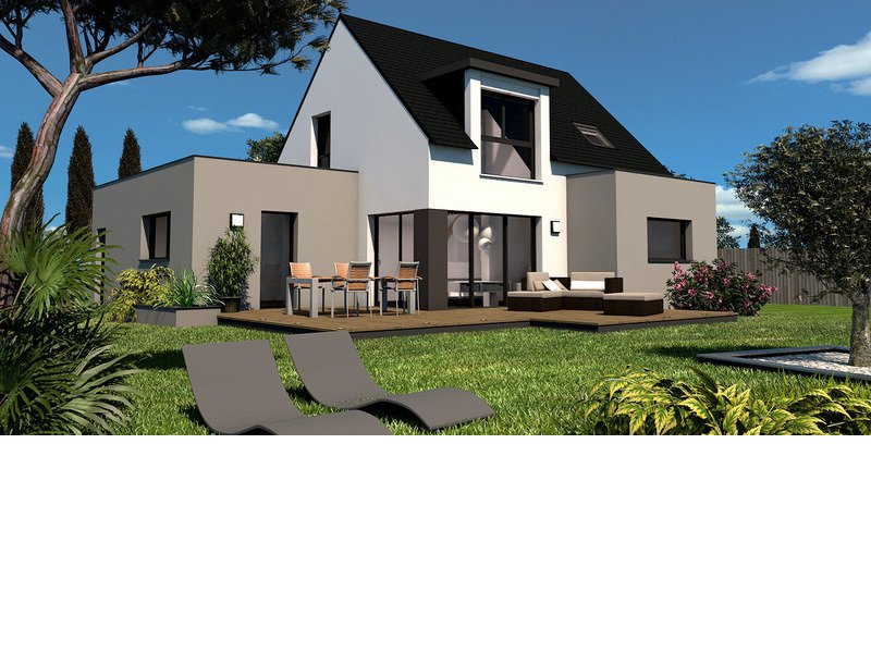 Maison+Terrain de 5 pièces avec 4 chambres à Rosporden 29140 – 184900 € - TBI-18-12-20-124