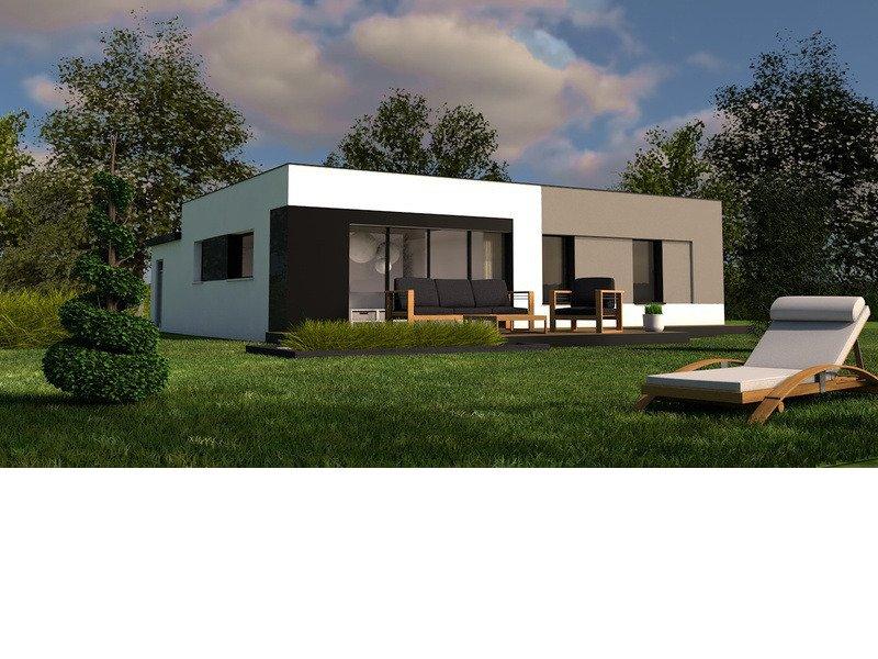 Maison+Terrain de 4 pièces avec 3 chambres à Saint Yvy  – 178915 € - TBI-19-06-18-178