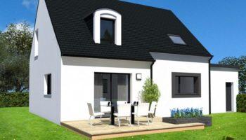 Maison+Terrain de 5 pièces avec 4 chambres à Plozévet 29710 – 181000 € - TBI-18-07-03-44