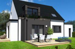 Maison+Terrain de 5 pièces avec 4 chambres à Saint Évarzec 29170 – 220655 € - TBI-19-10-15-33