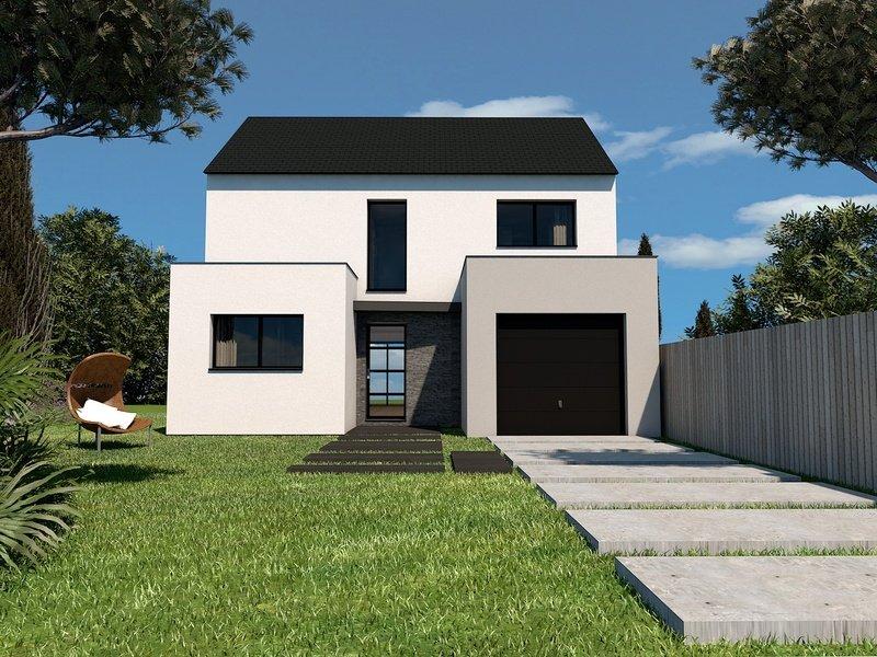 Maison+Terrain de 6 pièces avec 4 chambres à Saint Renan 29290 – 236000 € - GLB-18-07-24-24