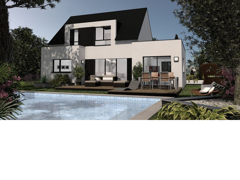 A vendre maison terrain 6 pi ces 110 m sur terrain de 710 m triel sur seine 78510 trecobat for Maison sans terrain