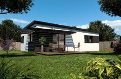 Maison+Terrain de 3 pièces avec 2 chambres à Clohars Fouesnant 29950 – 142090 € - TBI-19-04-23-19