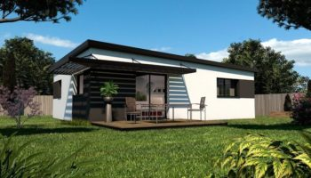 Maison+Terrain de 3 pièces avec 2 chambres à Clohars Fouesnant 29950 – 138000 € - TBI-19-02-18-14