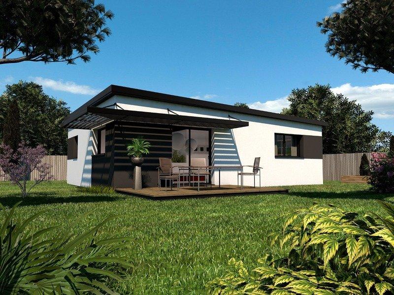 Maison+Terrain de 3 pièces avec 2 chambres à Ergué Gabéric 29500 – 156992 € - TBI-19-06-04-33