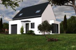 Maison+Terrain de 4 pièces avec 3 chambres à Saint Lyphard 44410 – 185980 € - TDEC-18-08-21-19
