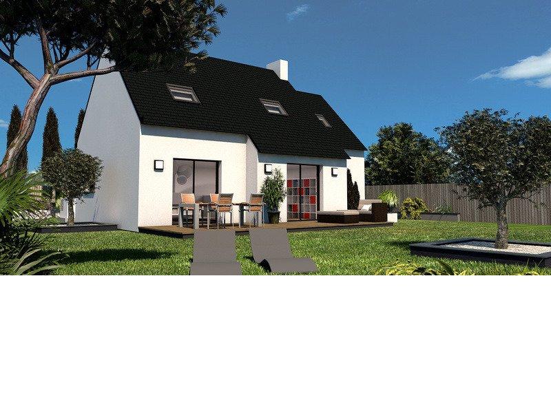Maison+Terrain de 5 pièces avec 4 chambres à Ergué Gabéric 29500 – 170000 € - KA-18-07-03-2