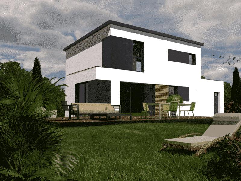 Maison+Terrain de 5 pièces avec 4 chambres à Peumérit 29710 – 187000 € - TBI-18-08-10-19