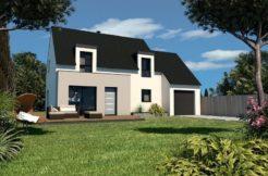 Maison+Terrain de 6 pièces avec 4 chambres à Plouvorn 29420 – 187850 € - DM-19-02-25-1
