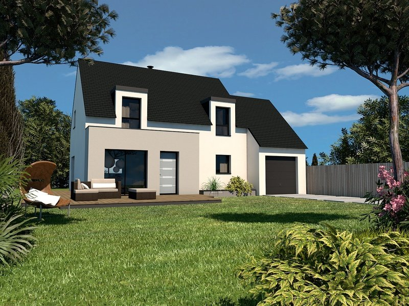 Maison+Terrain de 6 pièces avec 4 chambres à Plougourvest 29400 – 171276 € - DM-19-08-19-111