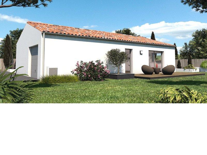 Maison+Terrain de 4 pièces avec 3 chambres à Saint Médard d'Aunis 17220 – 175400 € - JTA-18-08-08-36