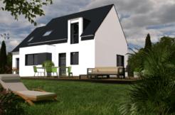 Maison+Terrain de 7 pièces avec 4 chambres à Ploeren 56880 – 340998 € - VB-19-03-25-39