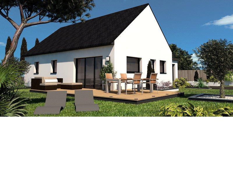 Maison+Terrain de 4 pièces avec 3 chambres à Ergué Gabéric 29500 – 177100 € - EDE-18-12-09-13