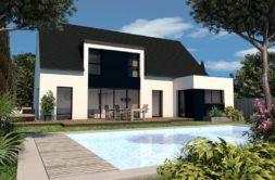 Maison+Terrain de 6 pièces avec 4 chambres à Locoal Mendon 56550 – 318938 € - JMM-19-10-02-4