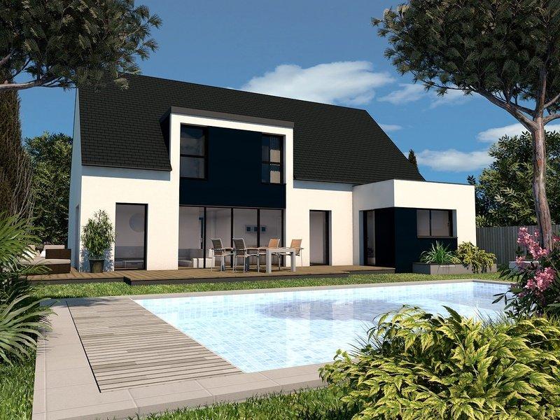 Maison+Terrain de 6 pièces avec 4 chambres à Locoal Mendon 56550 – 311566 € - JMM-19-10-02-8