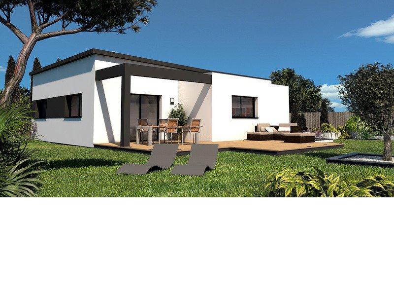 Maison+Terrain de 4 pièces avec 3 chambres à Saint Yvy  – 207915 € - TBI-19-05-28-73