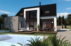 Maison+Terrain de 6 pièces avec 4 chambres à Locoal Mendon 56550 – 236692 € - RJ-19-10-22-3