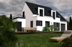 Maison+Terrain de 6 pièces avec 5 chambres à Landévant 56690 – 254800 € - JCP-19-02-01-11