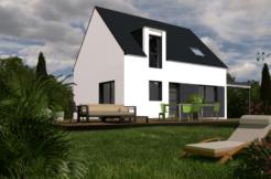 Maison+Terrain de 5 pièces avec 4 chambres à Brech 56400 – 256210 € - JCP-19-02-07-2