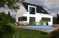 Maison+Terrain de 4 pièces avec 3 chambres à Rosporden 29140 – 168900 € - TBI-19-02-25-58