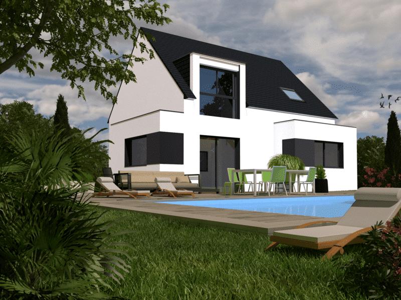 Maison+Terrain de 4 pièces avec 3 chambres à Fouesnant 29170 – 204800 € - TBI-19-01-18-5