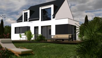Maison+Terrain de 6 pièces avec 4 chambres à Ploudaniel 29260 – 197500 € - QAB-18-10-15-4