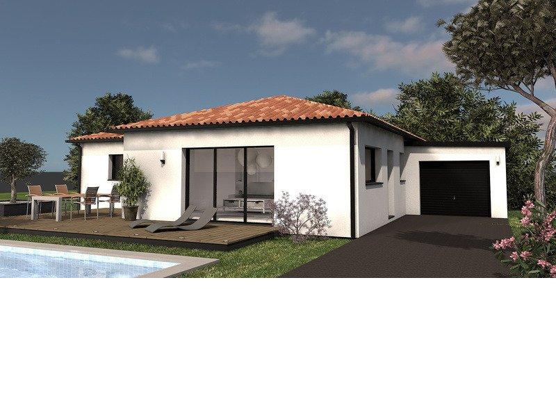 Maison+Terrain de 4 pièces avec 3 chambres à Montussan 33450 – 345228 € - YFAU-20-01-14-16