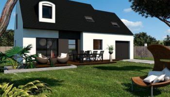 Maison+Terrain de 6 pièces avec 4 chambres à Ploufragan 22440 – 202791 € - SMO-20-04-14-63
