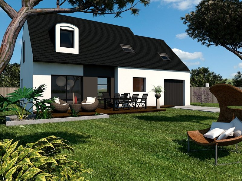 Maison+Terrain de 6 pièces avec 4 chambres à Pordic  – 180131 € - SMO-19-08-09-21