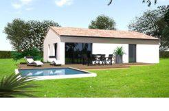 Maison+Terrain de 4 pièces avec 3 chambres à Serres Castet 64121 – 211900 € - NLA-18-11-12-98