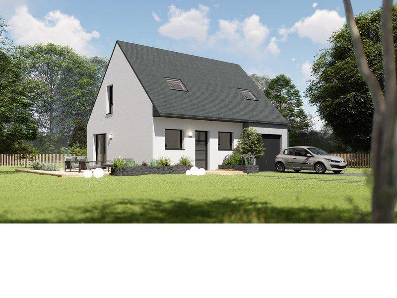 Maison+Terrain de 5 pièces avec 4 chambres à Saint Thégonnec 29410 – 168655 € - BHO-19-04-16-15