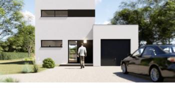Maison+Terrain de 4 pièces avec 3 chambres à Saint M'Hervon 35360 – 184604 € - RTU-19-04-29-92