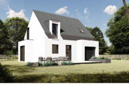 Maison+Terrain de 4 pièces avec 3 chambres à Sainte Reine de Bretagne 44160 – 172590 € - EGI-19-11-26-2