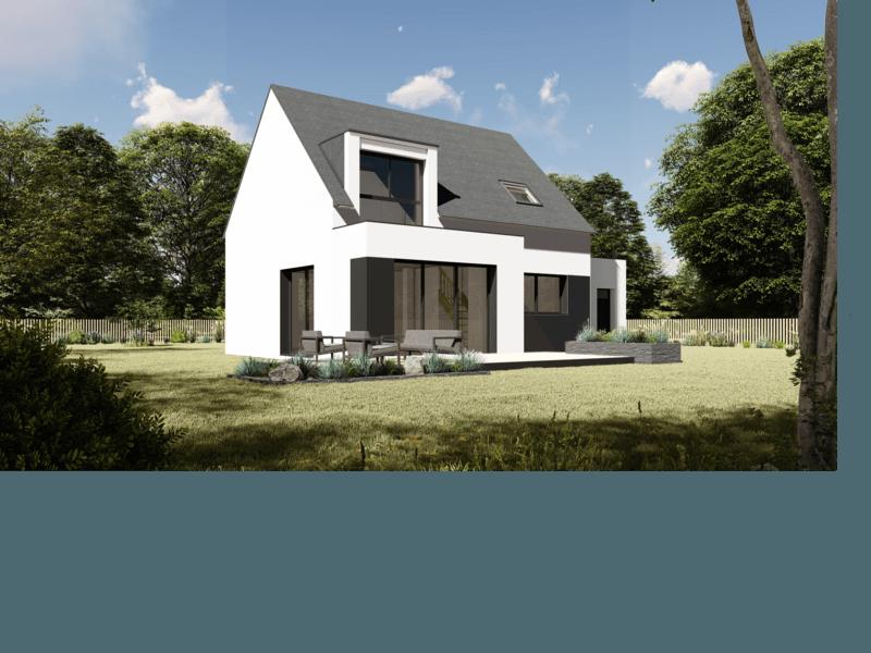 Maison+Terrain de 5 pièces avec 4 chambres à Pleuven 29170 – 207785 € - TBI-19-04-01-58