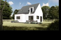Maison+Terrain de 6 pièces avec 4 chambres à Guiclan 29410 – 161080 € - SME-19-02-19-163