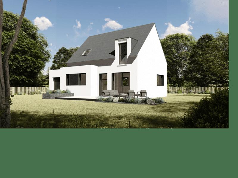 Maison+Terrain de 5 pièces avec 4 chambres à Saint Pol de Léon 29250 – 182168 € - SME-19-04-05-79