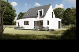 Maison+Terrain de 5 pièces avec 4 chambres à Saint Thégonnec 29410 – 160591 € - SME-19-02-19-55