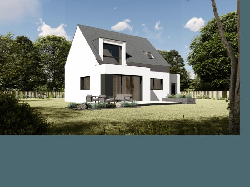 Maison+Terrain de 6 pièces avec 4 chambres à Baden 56870 – 218000 € - RJ-19-01-22-4