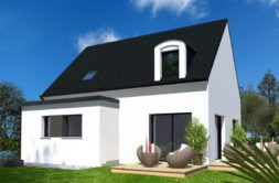 Maison+Terrain de 6 pièces avec 4 chambres à Folgoët  – 216242 € - YBIA-19-08-16-18