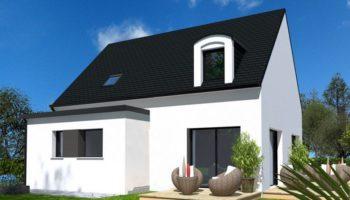 Maison+Terrain de 6 pièces avec 4 chambres à Folgoët 29260 – 221388 € - YBIA-19-10-16-31