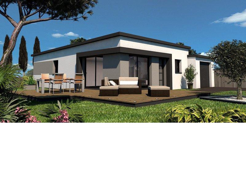 Maison+Terrain de 4 pièces avec 3 chambres à Saint Yvy 29140 – 192608 € - EDE-19-03-08-17