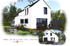Maison+Terrain de 4 pièces avec 3 chambres à Nouvoitou 35410 – 199912 € - RTU-19-04-08-61