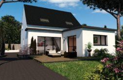 Maison+Terrain de 5 pièces avec 4 chambres à Saint Mars du Désert 44850 – 282000 € - BF-20-01-23-19