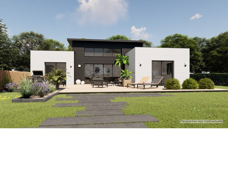 Maison+Terrain de 4 pièces avec 3 chambres à   – 295381 € - MCHAB-20-02-05-8
