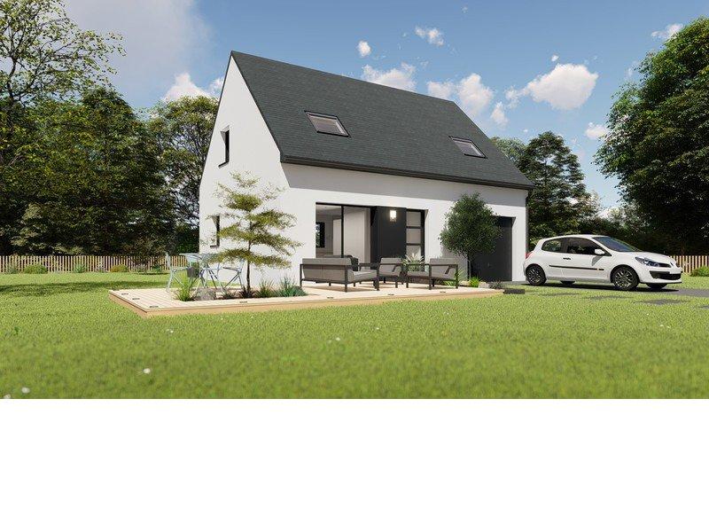 Maison+Terrain de 5 pièces avec 4 chambres à Saint Yvy  – 182703 € - EDE-19-05-27-49