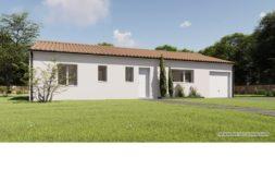 Maison+Terrain de 4 pièces avec 3 chambres à Montussan 33450 – 314228 € - YFAU-20-01-14-20